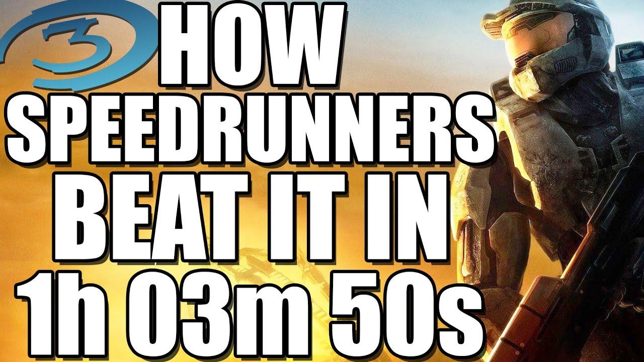 How Speedrunners beat Halo 3 in 1:03:50 on LEGENDARY (Halo 3 Speedrun WR)