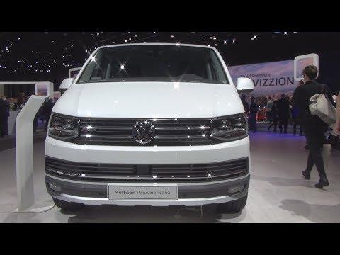 Volkswagen Transporter T6 Multivan PanAmericana 2.0 TDI 4MOTION 7-DSG (2018) Exterior And Interior