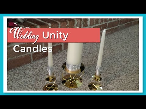 Wedding Series Unity Candles Diy Youtube