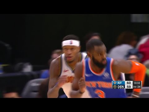 3rd Quarter, One Box Video: Denver Nuggets vs. New York Knicks