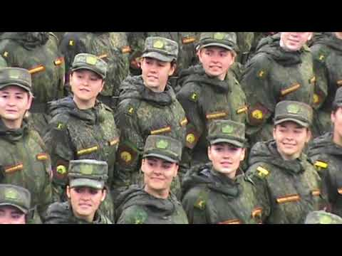 Russian Army Victory Parade Rehearsal 2018