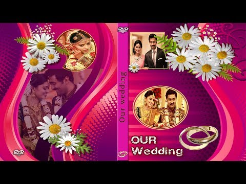 Wedding DVD Disc and Case Cover PSD Files for Free Download