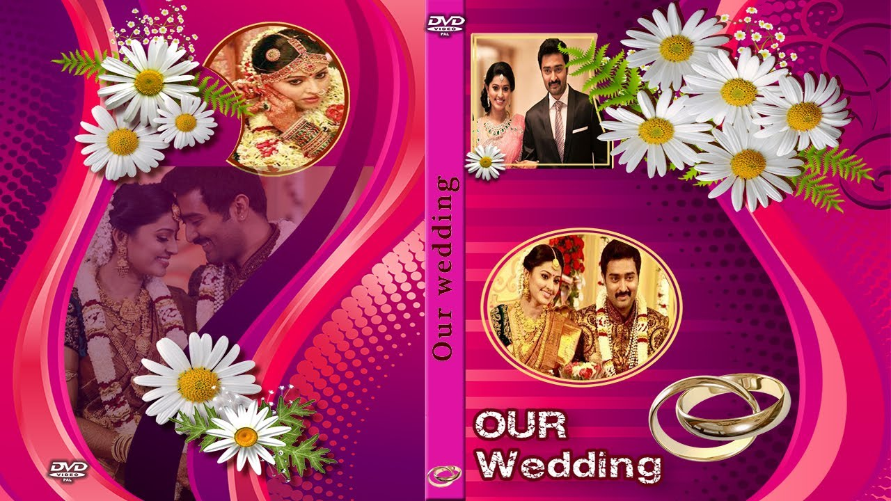 Wedding DVD Disc and Case Cover PSD Files for Free ...