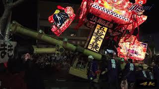 北海道沼田町の夜高あんどんぶつけあいです迫力満点ですよ!
