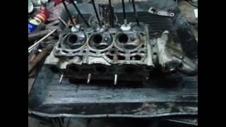 Последствия обрыва ремня грм Daewoo Matiz