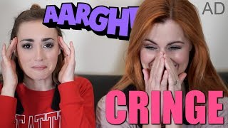 REACTING TO OUR OLD VIDEOS
