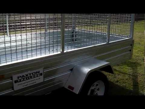 Paxton Trailers Galvanised Steel General Purpose Utility Transporter Car Van Trailer