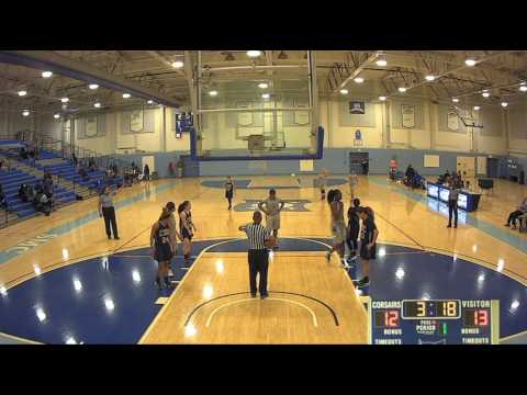 Santa Moncia College Women's Basketball vs College of the Canyons - January 25, 2017 (Full Game)