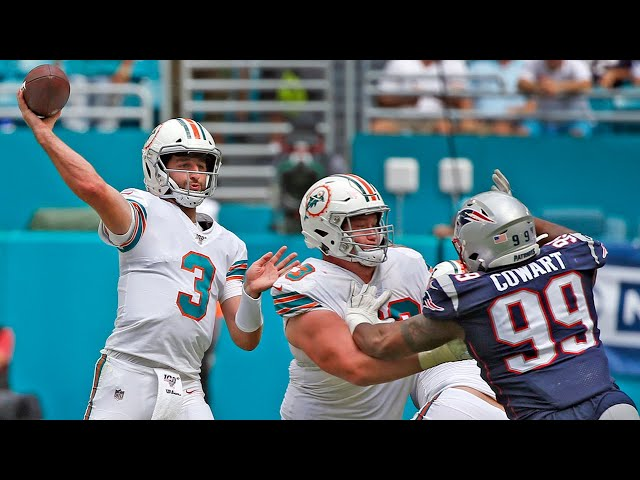 Miami Dolphins Josh Rosen talks about injury following Patriots game
