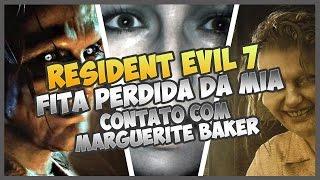 RESIDENT EVIL 7 #3 - CONTATO COM MARGUERITE BAKER E A FITA PERDIDA DA MIA