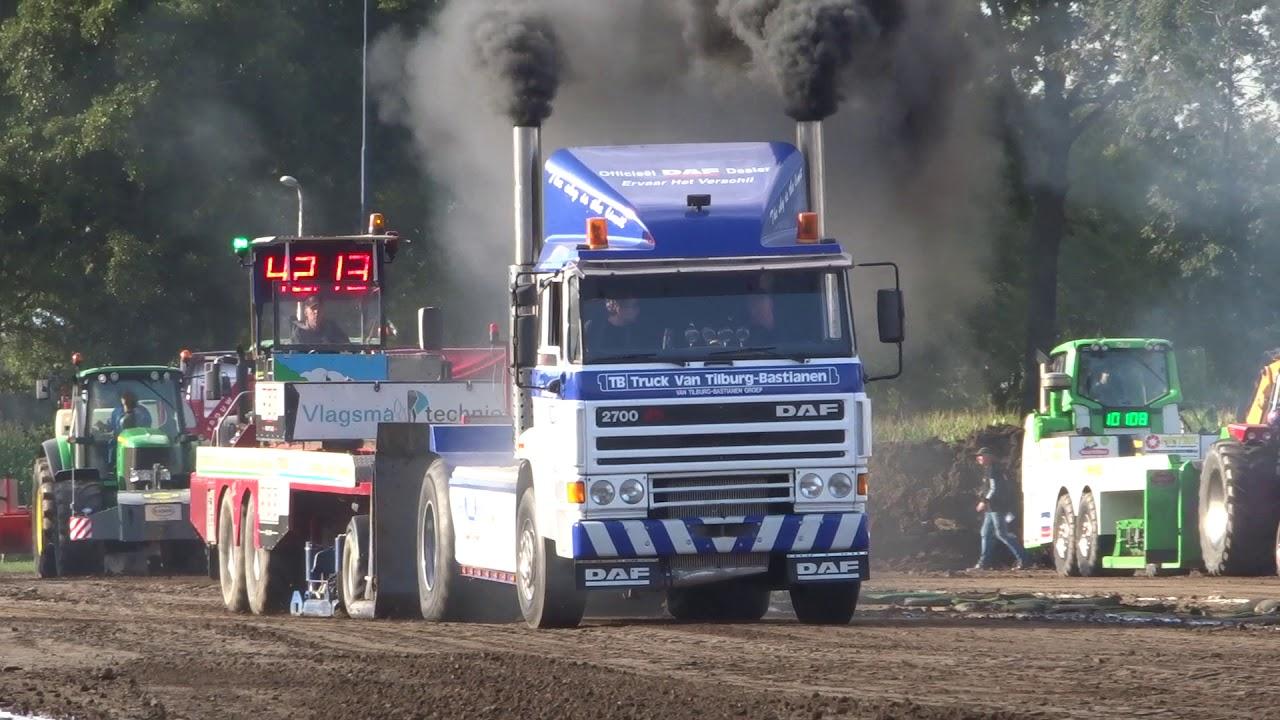 Truckpulling van Tilburg-Bastianen DAF Staphorst 2019 pull2