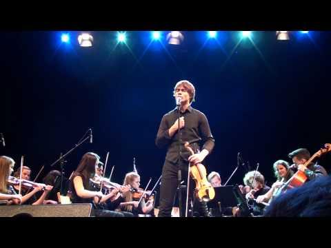 Fairytale; Alexander Rybak, Sandnes Ung symfoni og Unge strykere