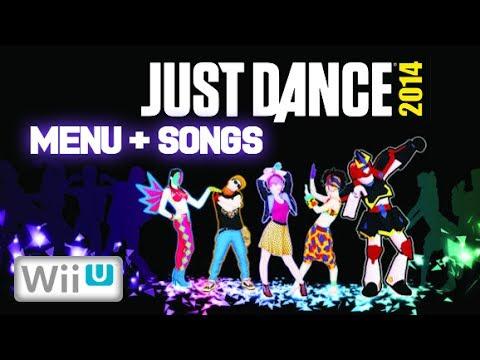Just Dance 2014  Wii U  Show Menu + All Songs + Extras NTSC