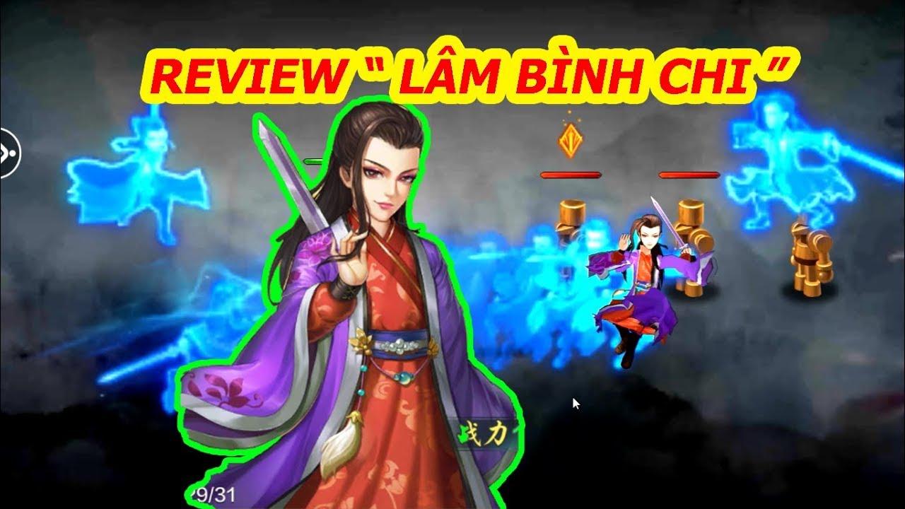 """Download Tiếu Ngạo VNG : Review """" Lâm Bình Chi """" , Sự Bá Đạo Của Tịch Tà Kiếm Phổ"""