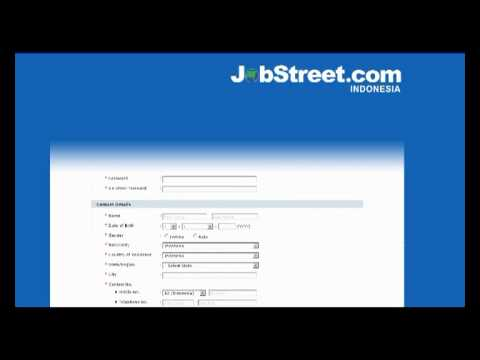 how to create account in jobstreet com youtube