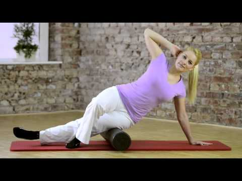"Video: Sissel Pilates Roller ""Intense"""