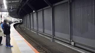 【湘南新宿ライン、埼京線】武蔵小杉駅4番線 電車出発・到着