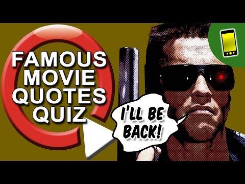 Movie Quiz | Famous Movie Quotes
