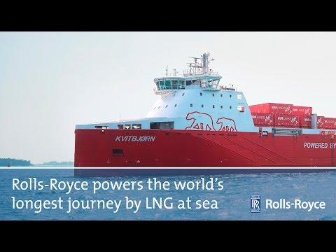 Rolls-Royce | Powering The World's Longest Journey By LNG At Sea
