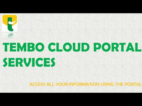Tembo Sacco members can access their statements online. Kindly view the video. Easy kama 1 2 3.