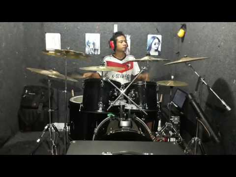 Ungu Dengan Napasmu Drum Cover By Novigita (Official Video)