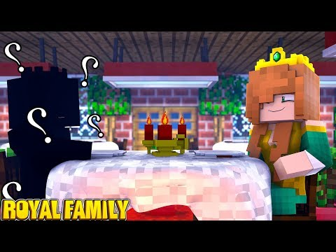 WHO IS MOM'S SECRET VALENTINES DATE?!! | Minecraft Royal Family | Little Kelly