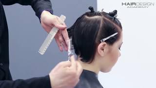 Как сделать стрижку с высоким объемом /Александр Попков