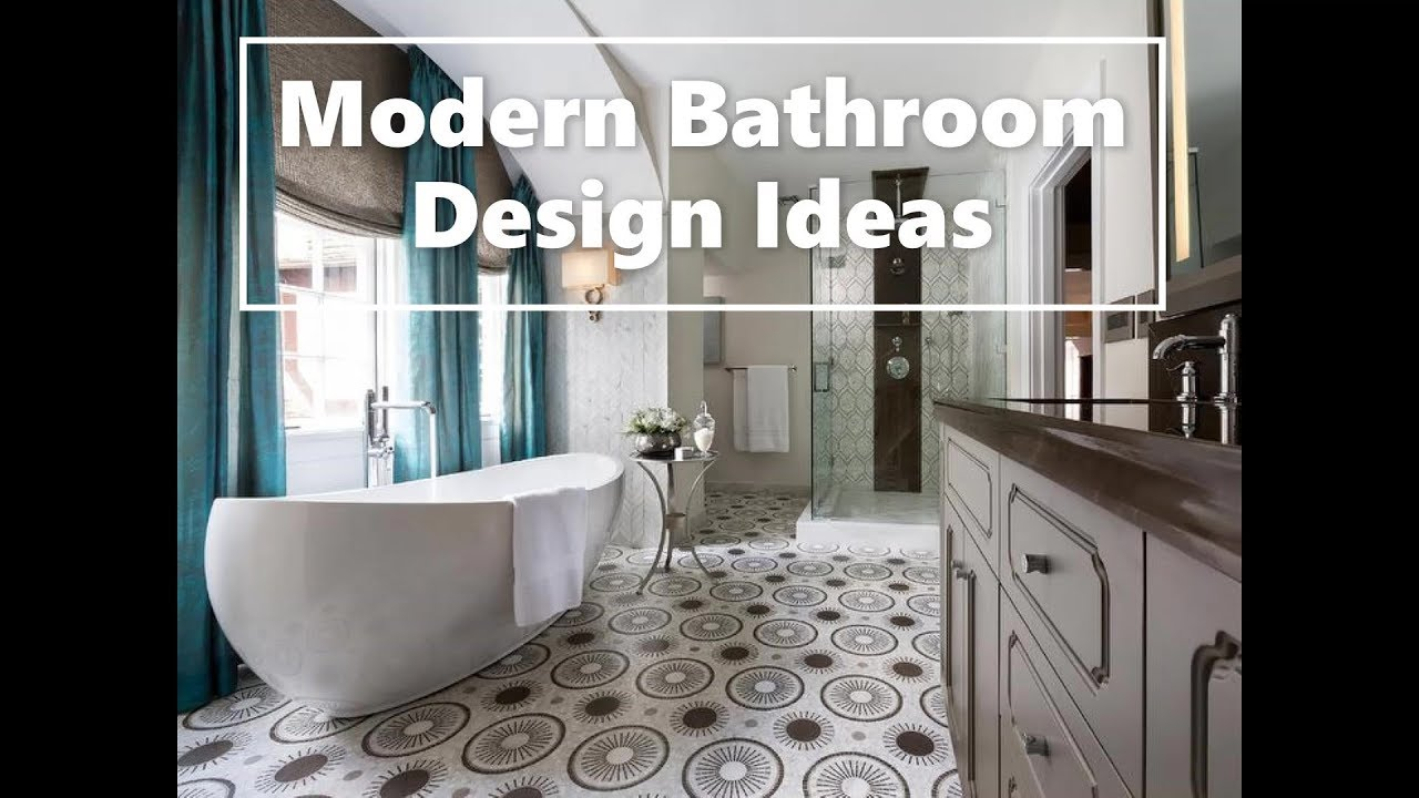 Modern Bathroom Trends 2020 50 Design Ideas Youtube