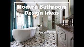 Modern Bathroom Trends 2019 & 2020   50 Design Ideas