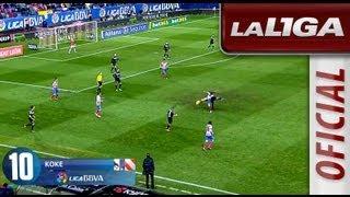 Top 10 goles de la Liga BBVA 2012/2013