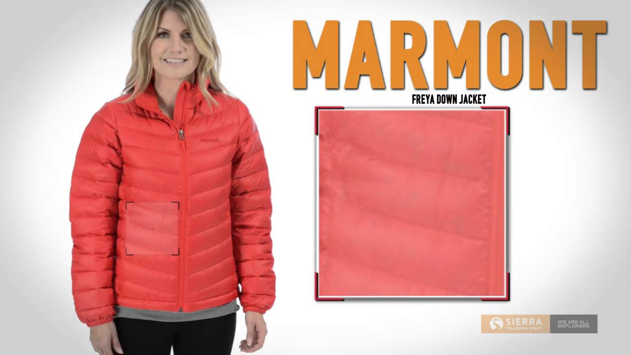 Marmot Freya Down Jacket - 700 Fill Power (For Women) - YouTube