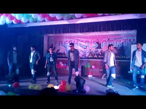 I.M.I.T College , Cuttack Fresher's Party 2017 video 4