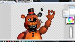 FNaF speed edit]Withered Toy Freddy v 2
