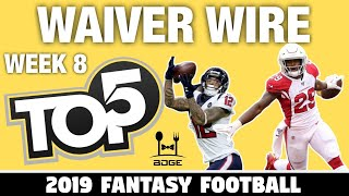Top Waiver Wire Targets - Week 8 Fantasy Football