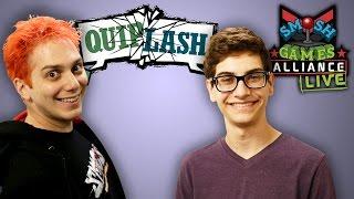 QUIPLASH LIVE w/ SMOSH, THE WARP ZONE AND TIM FROM TIM'S CHANNEL! (SGA Live)