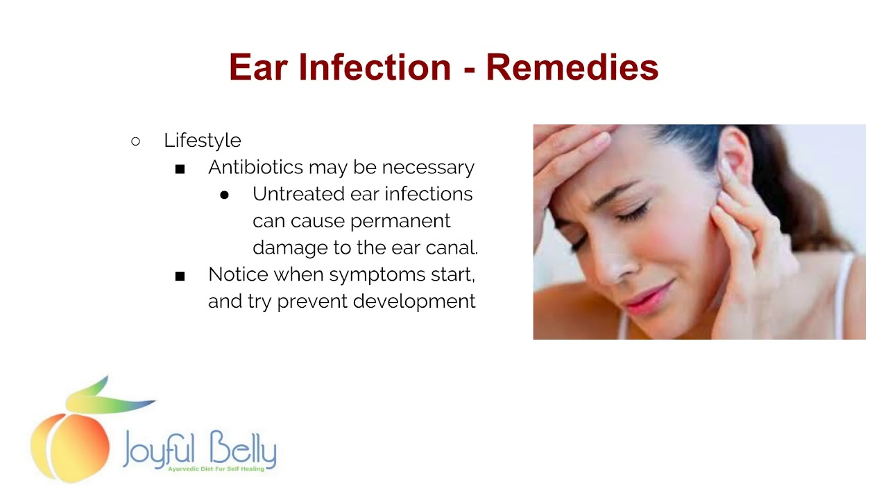 how to fight ear infections with diet