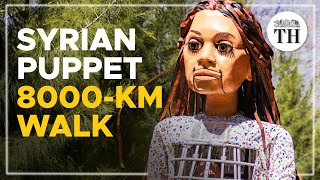 A Syrian puppet takes on an 8000-km journey