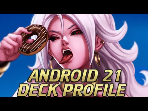 BEST ANDROID 21 DECK! DRAGON BALL SUPER CARD GAME