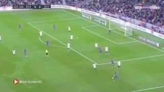 ملخص مباراة برشلونة وإشبيلية 3-0 شاشة كامله. حفيظ الدراجي