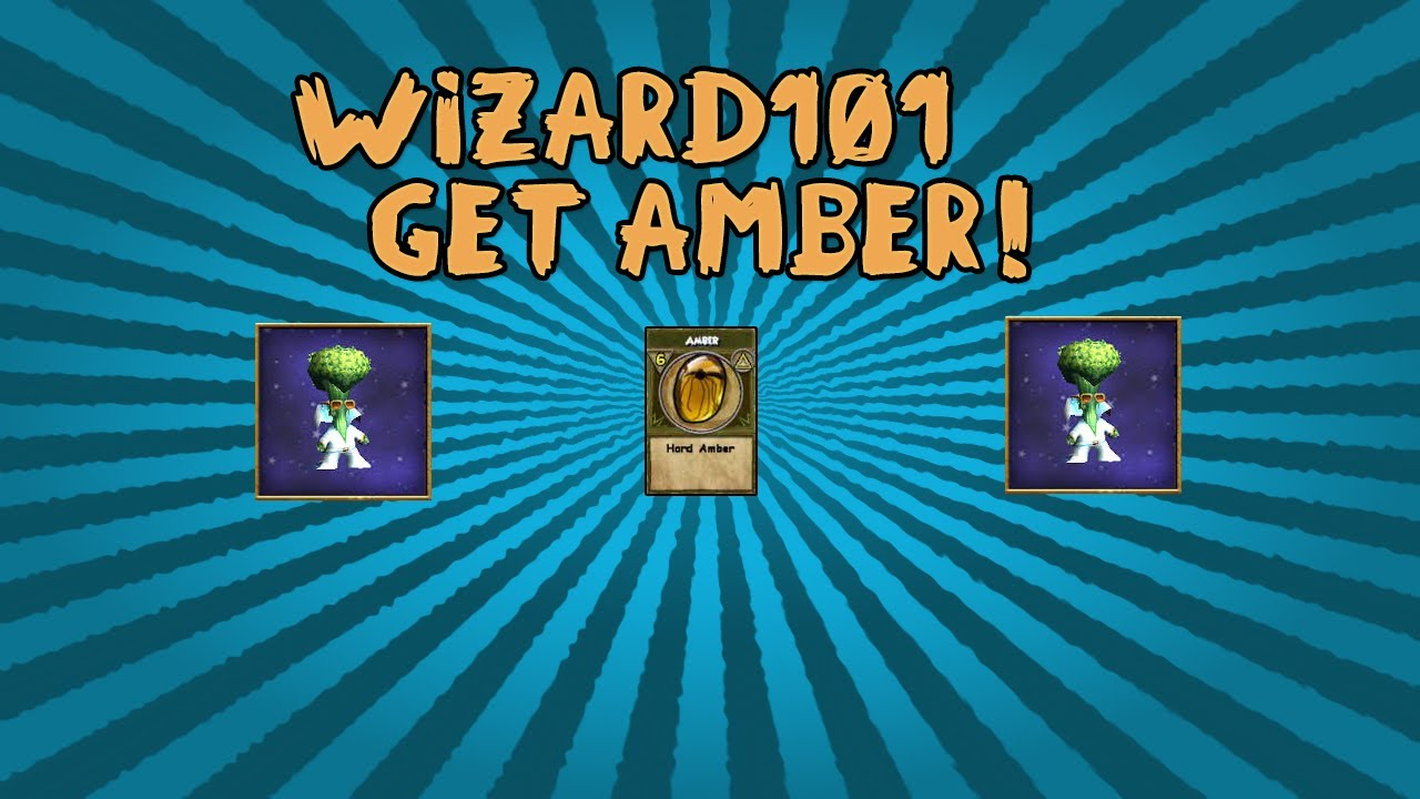 Wizard101 Amber! Get It In No Time! by VarsityGamerYT