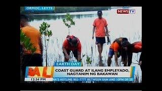 BT: Coast guard at ilang empleyado, nagtanim ng bakawan