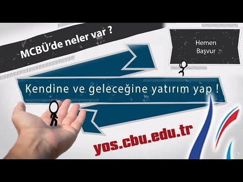 Manisa Celal Bayar Üniversitesi Uluslararası Öğrenci Sınavı MCBÜ - YÖS tanıtım