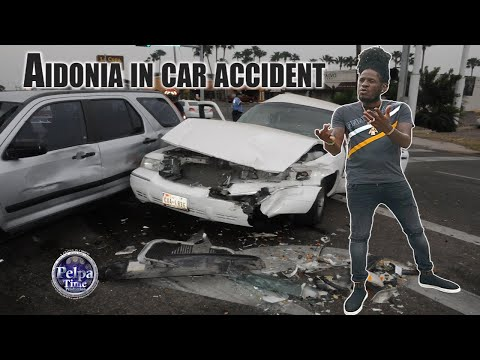 Aidonia In Car Accident On Mannings Hill Road Last Night