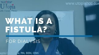 FREE *Dialysis Training Program* Video Class - What is a fistula for Dialysis?