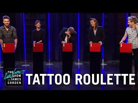 Thumbnail: Tattoo Roulette w/ One Direction