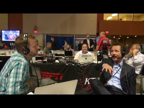Jim Rome Joins Darren Smith on Radio Row on his San Diego beginnings