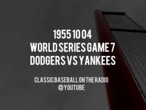 1955 10 04 World Series Game 7 Dodgers vs Yankees OTR