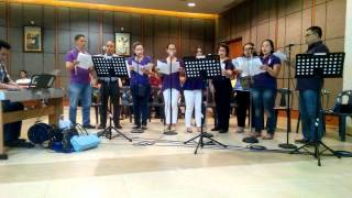 Lord We Bring To You by Lester Delgado - The Angelus Group at SM Megamall