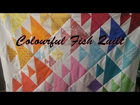 Colourful Fish Quilt