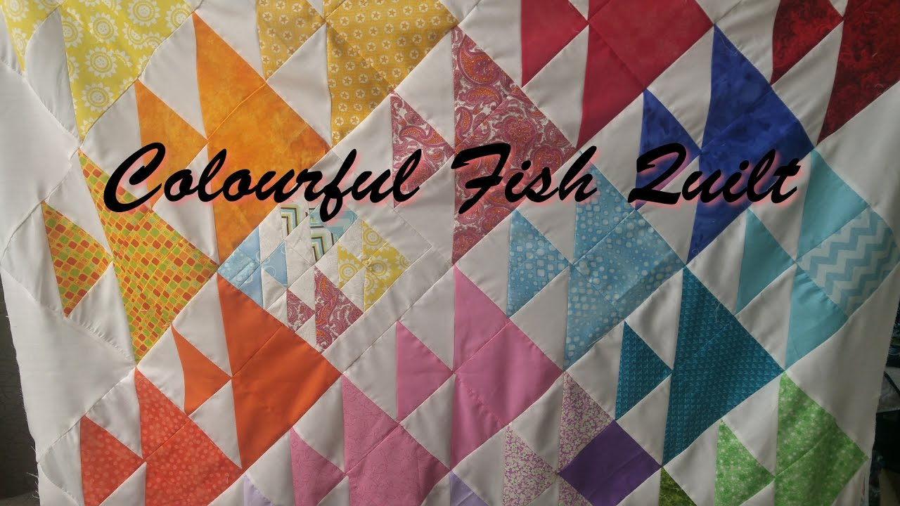 loads very fish the of tanderwen pieced piecing quilt big amazing erin s that was precise erins there are quilted swirly little her and blue so she liked all pattern quilts i over